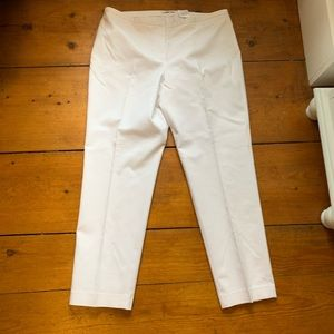 White Tahari pants